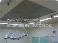 预制精装手术室304不锈钢墙板,电解钢板,1.2厚,背贴12mm石膏板