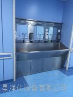 豪华304不锈钢感应自动刷手池、洗手池,带皂液器