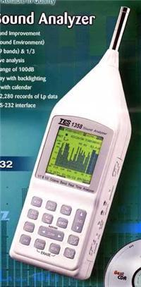 八音度实时音频分析仪TES-1358 八音度实时音频分析仪TES-1358