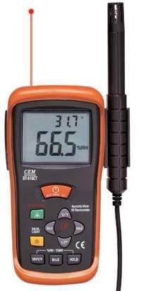 二合一非接触红外测温仪和相对湿度计DT-616CT 二合一非接触红外测温仪和相对湿度计DT-616CT