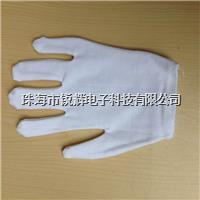江门白色加厚纯棉拉架作业手套 加厚纯棉拉架手套