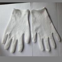 纯棉双面白色作业手套|纯棉手套厂家订做 双面纯棉手套