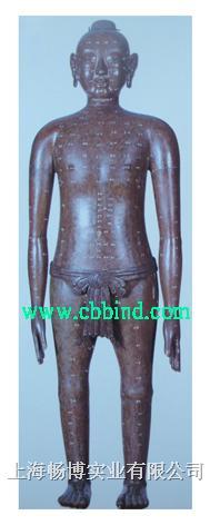 仿古针灸铜人|全铜针灸人模型 CBB-QT17