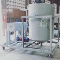 TR/ZJK润滑油白土脱色搅拌罐式多功能压力滤油机 TR/ZJK-1000