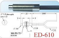 臺灣廣視GX漫反射型光纖線 ED-610、ED-610-I