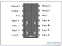 四电压比较器LM339
