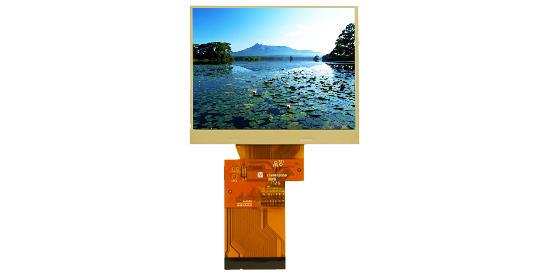 3.5寸TFT液晶屏 工控用320240彩色液晶屏 RGB接口兼通用性强