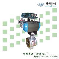 气动V型调节球阀 SMVQ671F