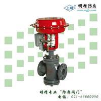 精小型气动薄膜双座调节阀 ZJHN
