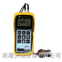 供应便携式TIME2134铸铁超声波测厚仪 TIME2134