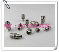 快拧直通管接头 正宗304 不锈钢快拧直通 不锈钢快拧接头 四氟管接不锈钢气管接头 JH076