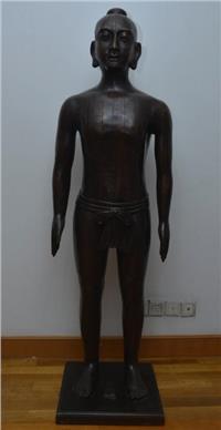 仿明代针灸铜人 170CM