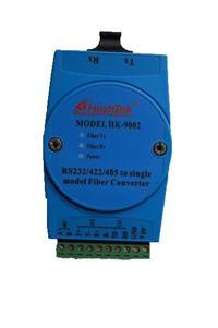 工业级RS232/485/422-SC接口单模光纤转换器