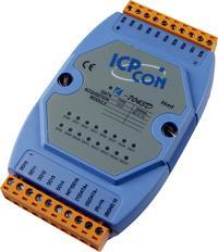 16通道集电极开路数字量输出模块   I-7043D