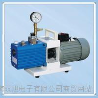 旋片式真空泵 带表型  购买方法 安装方式 旋片式真空泵