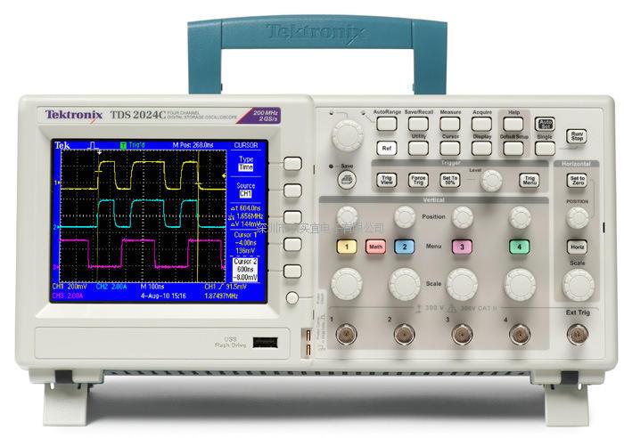 美国泰克 TDS2024C 数字储存示波器