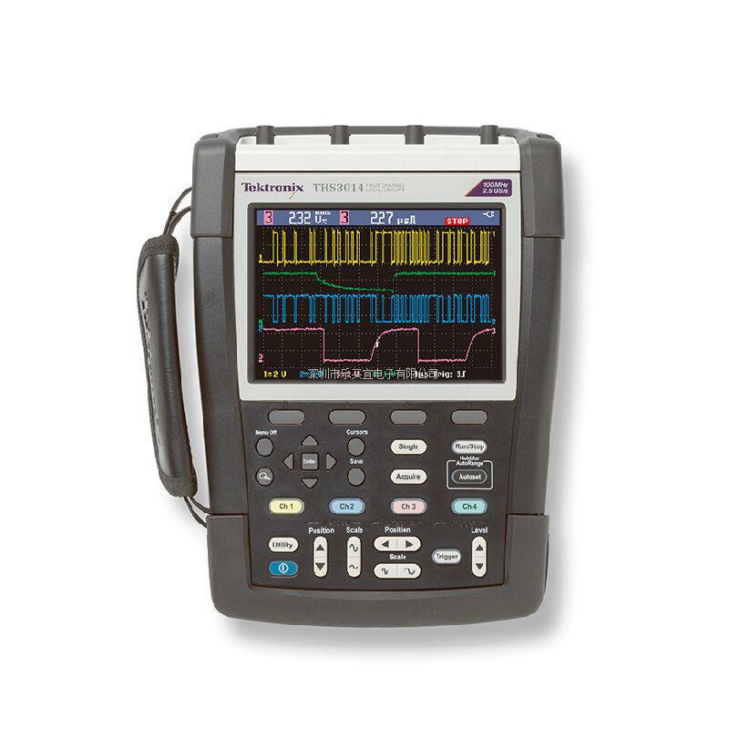 美国泰克/Tektronix手持式示波器THS3024 4通道 200MHz 5GS/s