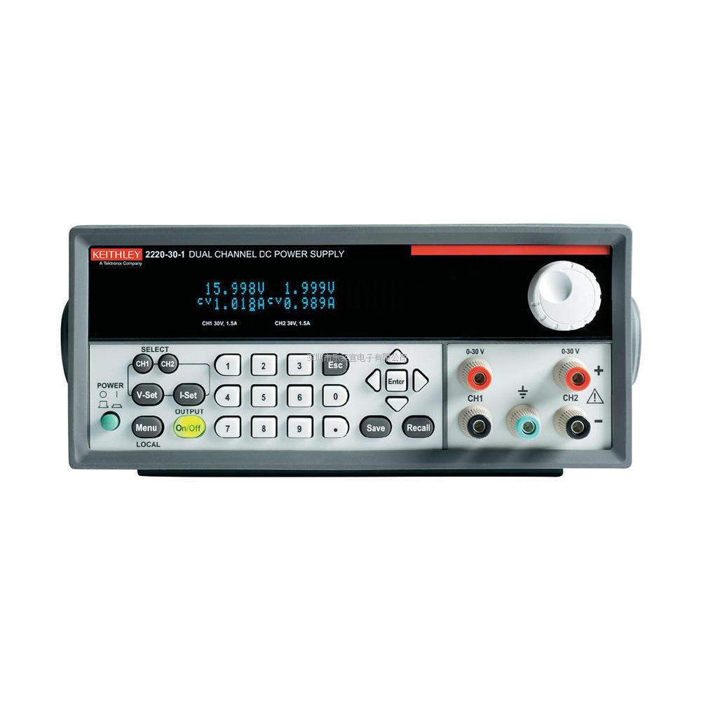 TEKTRONIX/泰克 吉时利2220G-30-1 型双通道可编程直流电源