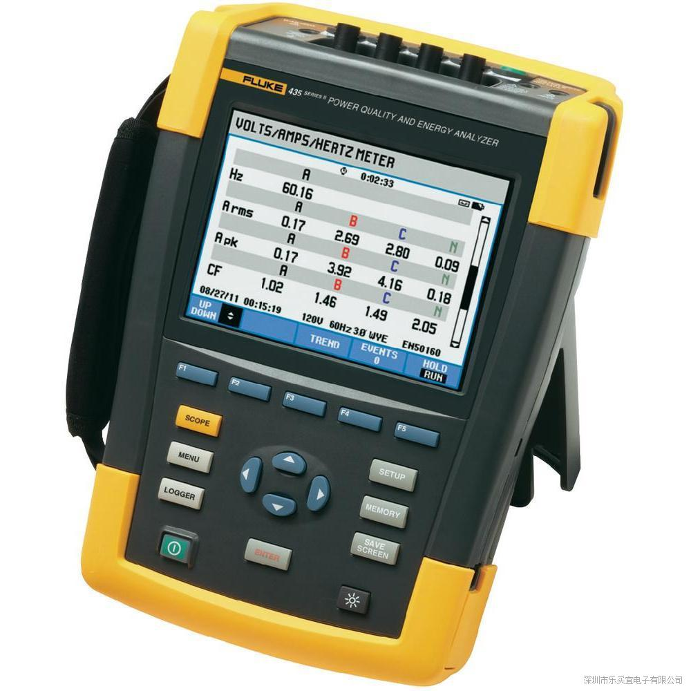美国福禄克Fluke435II系列三相电能质量分析仪