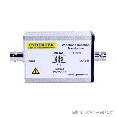 深圳知用 CK100(1Hz-3MHz) 宽带注入变压器