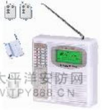 无线电话/GSM 双网防盗报警器