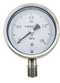 耐震壓力表 YN-100TQ 0~1.6MPa