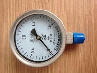 壓力表 Y-100ZT 0-1.6MPa 天康