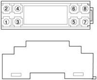WS1526 全隔离交流电流信号变换端子