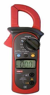 UT201数字钳形表 钳形电流表 钳表  UT201