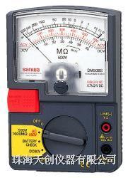 日本sanwa绝缘电阻表DM508S DM508S