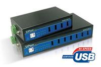 UPort 407代理MOXA USB扩展盒 UPort 407
