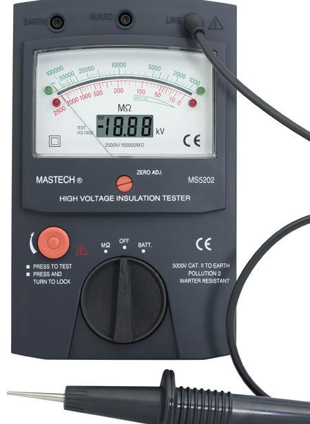 MS5202 数字指针双显兆欧表