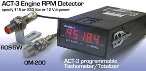 美国蒙那多(Monarch) 汽车发动机专用转速表