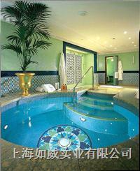 专业承接游泳池工程 SPA按摩池桑拿水处理设备 套