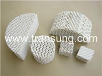 陶瓷波纹填料,陶瓷规整波纹填料 TCP-CCP125Y
