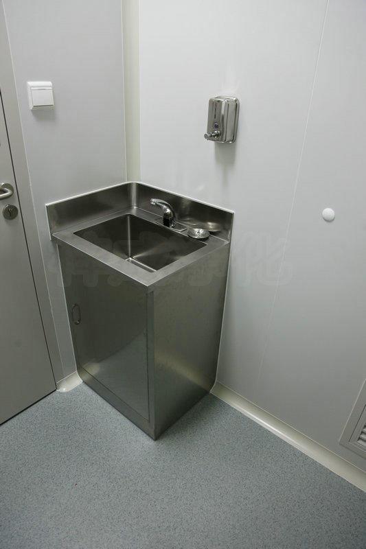 單人不鏽鋼洗手池