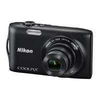 Nikon尼康COOLPIX S3300 便携数码相机(黑色)