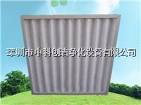 可清洗铝框字母架初效过滤器 ZKCJ-ZMJ595*595*46