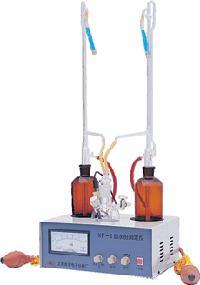 上海安亭電子水份測定儀KF-1