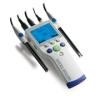 梅特勒SevenGo Duo专业型便携式pH/离子浓度/电导率多参数测试仪SG78-B