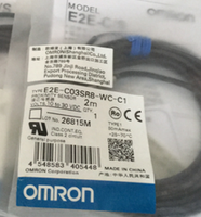 日本欧姆龙OMRON接近传感器E2E-C03SR8-WC-C1 E2E-C03SR8-WC-C1