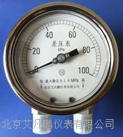 北京艾凡 TCMF-75X型经济小巧差压表 TCMF-75X型
