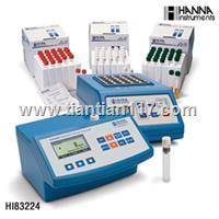 意大利HANNA水质测定仪 COD/余氯/氨氮/总磷/总氮等 HI83224/HI83214/HI83099