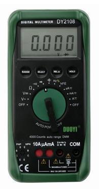 智能型数字万用表 DY2108
