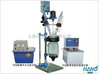 夹套玻璃反應釜/夹套玻璃反应器/小型双层玻璃反應釜 1L-5L