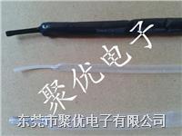 Φ6.0mm黑色PTFE铁氟龙热缩管