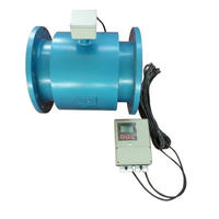 分体式电磁流量计液体流量计流量传感器防腐污水流量计橡胶衬里