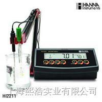 哈纳HI2211 实验室pH/温度测定仪 HI2211