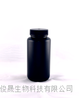 500ml聚乙烯黑色避光广口塑料试剂瓶 PE500-WS