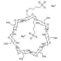 磺丁基-β-环糊精 CAS:182410-00-0